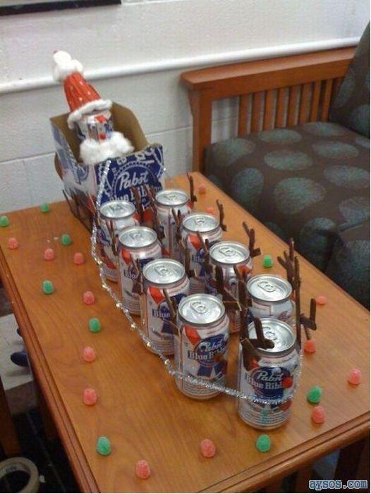 60 Joyous Beer Christmas Decorations