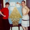 thumbs christmas beer tree ornaments 46