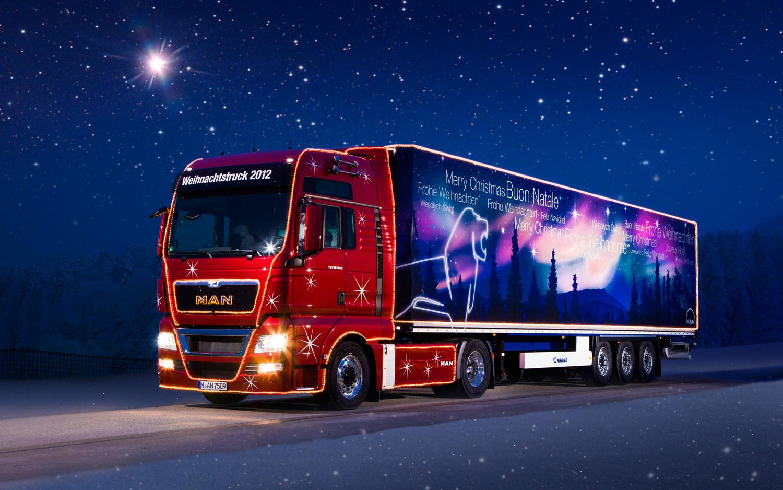 80 trucks decorated for christmas. Black Bedroom Furniture Sets. Home Design Ideas