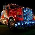 thumbs christmas lights truck 10