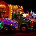 thumbs christmas lights truck 11