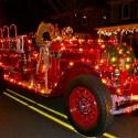 thumbs christmas lights truck 12