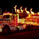 thumbs christmas lights truck 13