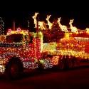 thumbs christmas lights truck 13