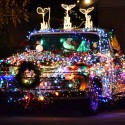 thumbs christmas lights truck 15