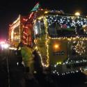 thumbs christmas lights truck 16