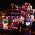 thumbs christmas lights truck 17