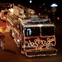 thumbs christmas lights truck 2