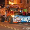 thumbs christmas lights truck 21