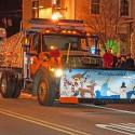 thumbs christmas lights truck 21
