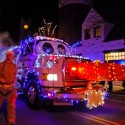 thumbs christmas lights truck 23