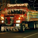 thumbs christmas lights truck 26