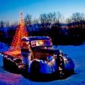 thumbs christmas lights truck 28