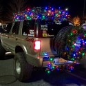 thumbs christmas lights truck 29
