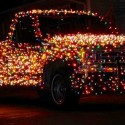 thumbs christmas lights truck 30