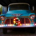 thumbs christmas lights truck 33