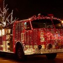 thumbs christmas lights truck 35