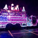 thumbs christmas lights truck 36