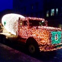 thumbs christmas lights truck 37