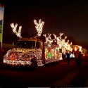thumbs christmas lights truck 38