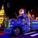thumbs christmas lights truck 39