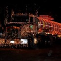 thumbs christmas lights truck 4