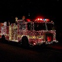 thumbs christmas lights truck 41