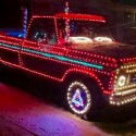 thumbs christmas lights truck 42