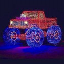 thumbs christmas lights truck 44