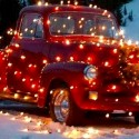 thumbs christmas lights truck 47
