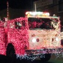 thumbs christmas lights truck 5