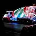 thumbs christmas lights truck 50