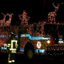 thumbs christmas lights truck 53