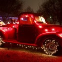thumbs christmas lights truck 55