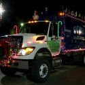 thumbs christmas lights truck 56