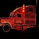 thumbs christmas lights truck 57