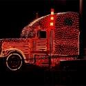 thumbs christmas lights truck 57