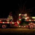 thumbs christmas lights truck 59
