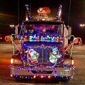 thumbs christmas lights truck 6