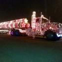 thumbs christmas lights truck 60