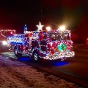 thumbs christmas lights truck 61