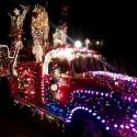 thumbs christmas lights truck 62
