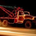 thumbs christmas lights truck 63