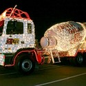 thumbs christmas lights truck 64