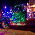 thumbs christmas lights truck 65