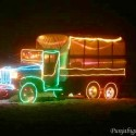thumbs christmas lights truck 67