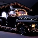thumbs christmas lights truck 7