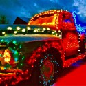 thumbs christmas lights truck 8