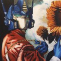 thumbs optimus prime with sunflower by wytrab8 d51x3du