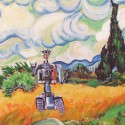 thumbs wheat field with johnny 5 by wytrab8 d3g6mbm